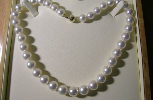 Spectacular South Sea pearl necklace